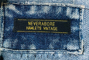Neverabore - Re Design Unisex Denim Vest Ramones