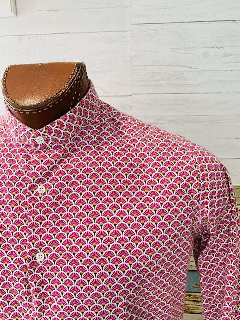Paco Roca - Small Flower Print | Long Sleeve Shirt - Hamlets Vintage