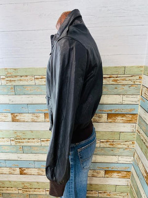 80s - Bomber Jacket  By Us Cabalry