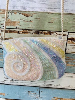 80s - Sequence Pastel Purse - Hamlets Vintage