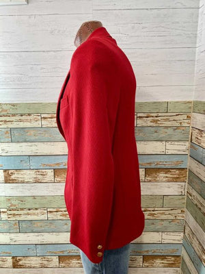 70s Disco Red Blazer By Britts