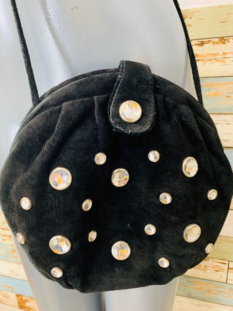 90s Oval Suede Store Bag