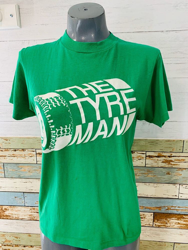 80s The Tyre Man T-shirt - Hamlets Vintage