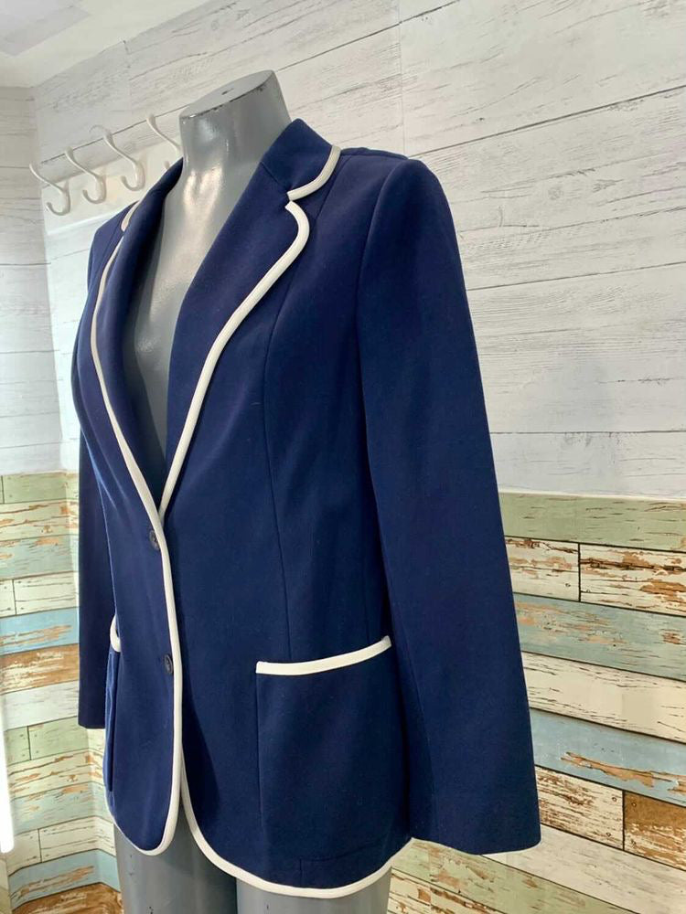 70s Blazer With White Trim