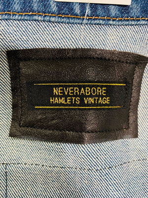 Neverabore - Re Design Unisex Denim Jacket - Hamlets Vintage