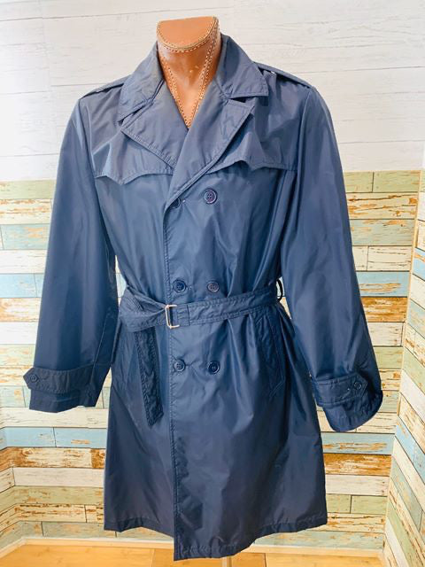 70s The Totes Nylon Trench Coat
