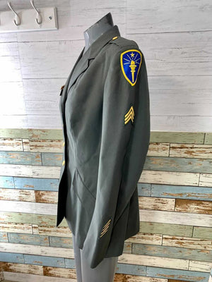 80s Female Military Uniform Jacket