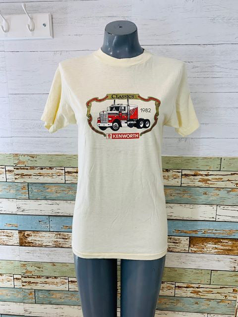 80's - Kenworth Classic 1982 T-Shirt - Hamlets Vintage