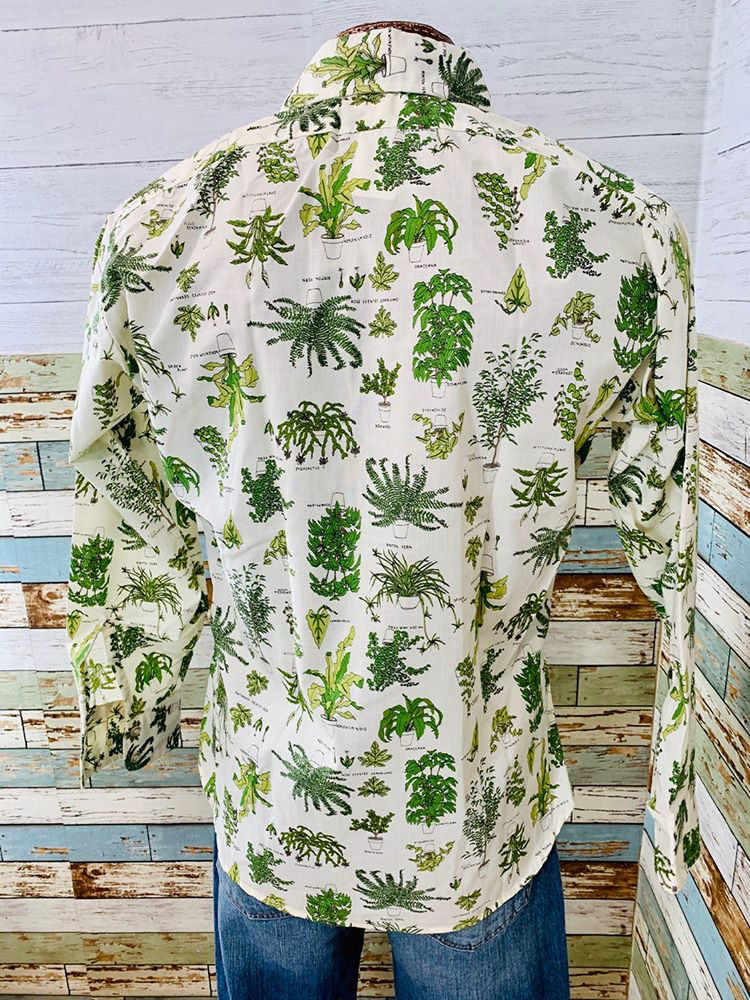 70s - Long Sleeve Mix Plants  By Levi's