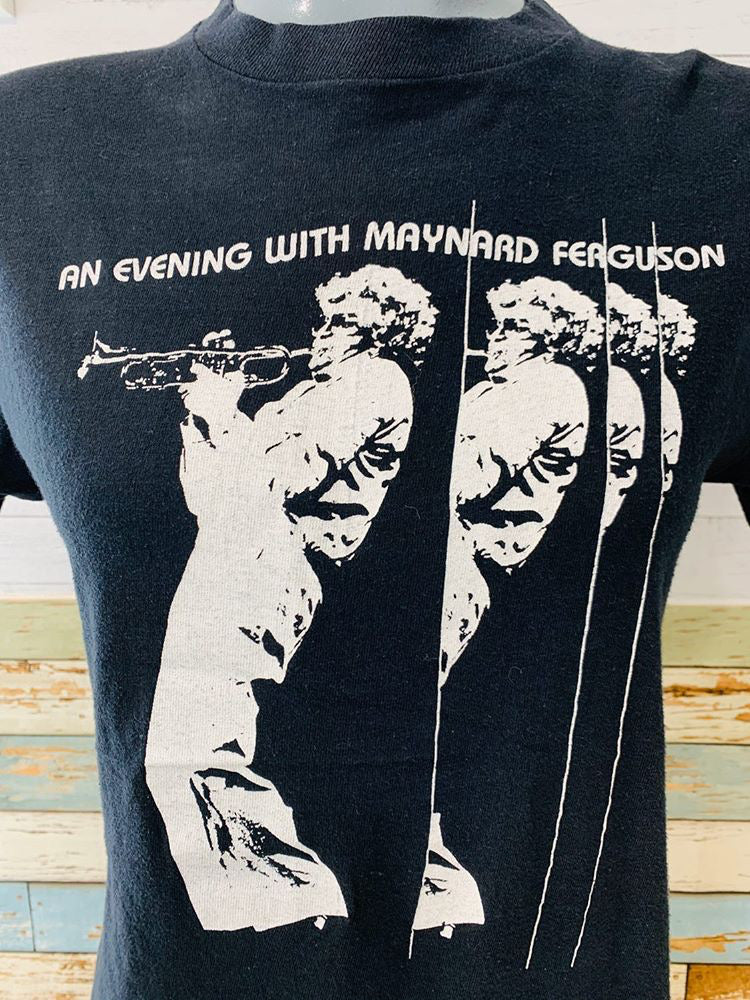90s - An Evening With Maynard Ferguson | T-Shirt - Hamlets Vintage