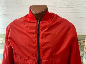 80s Zip Shell Bomber Jacket  By Damart