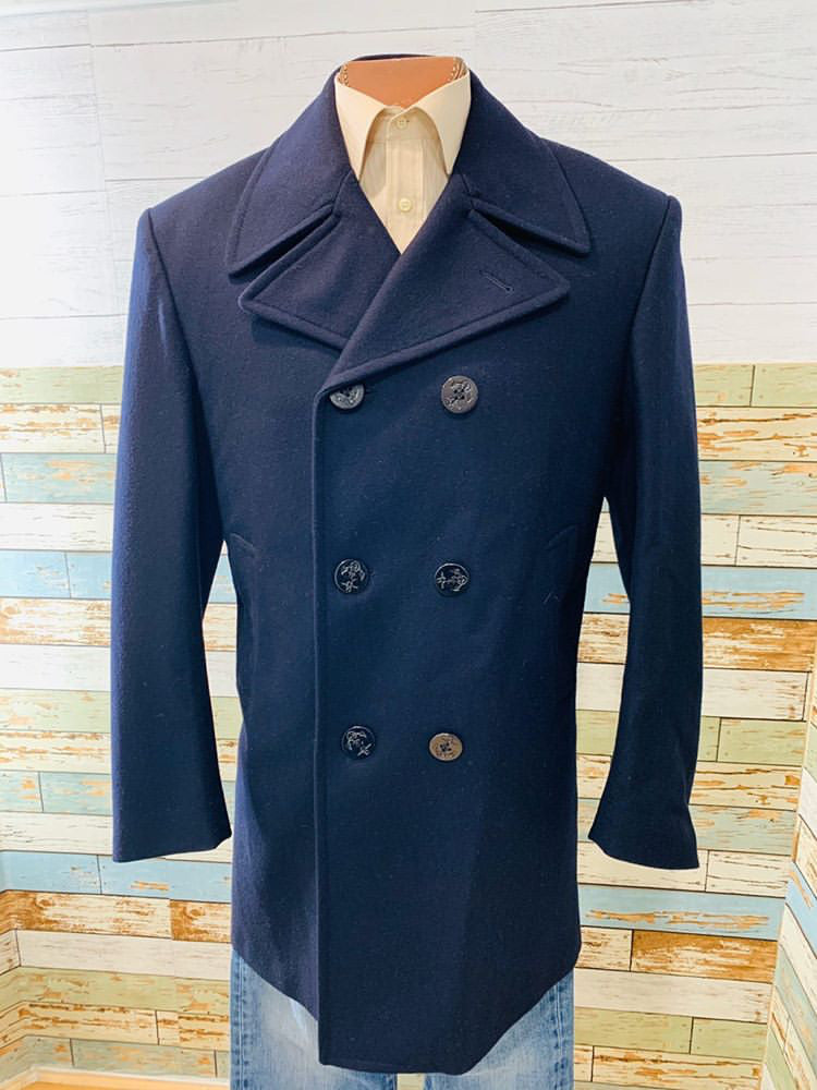 00s - Slim Navy Coat