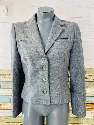 80s - Short Wool Jacket  By Don Sayres for Gamut