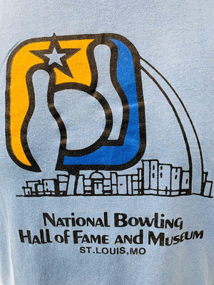 80s - National Bowling , Hall of Fame And Museum | T-Shirt - Hamlets Vintage