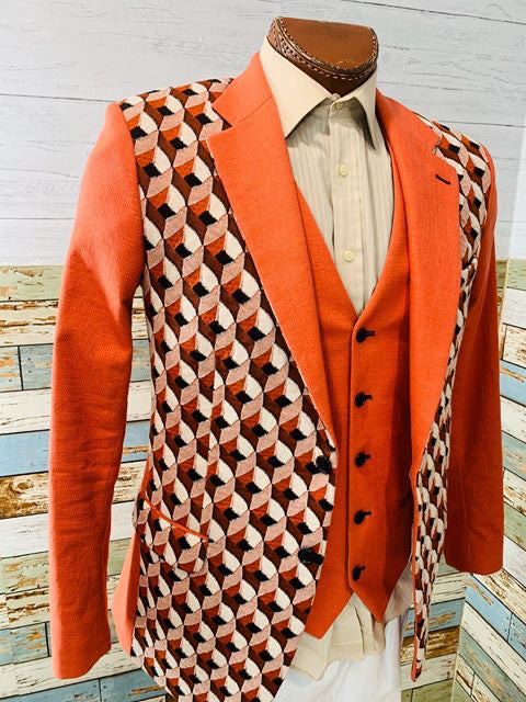 Paco Roca - Abstract | Blazer With Vest