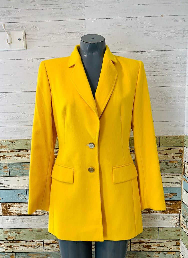 90's - Yellow Blazer by Escada - Hamlets Vintage
