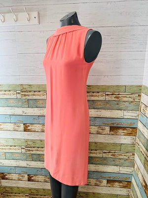 60s Sleeveless Bow Back Dress  By Lorrie Deb