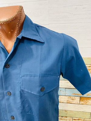80s - Lucky 7 Rockabilly Rules | Short Sleeve Shirt - Hamlets Vintage