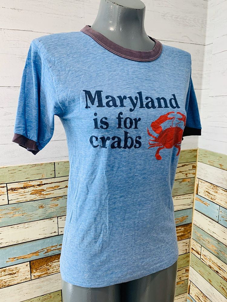 80s Maryland For Craps T-shirt - Hamlets Vintage