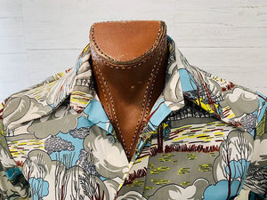 70s Martini long sleeve Shirt - Hamlets Vintage