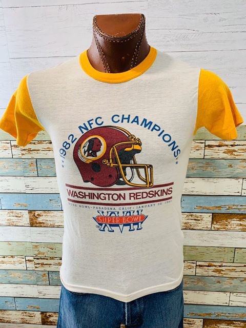 80s - 1982 NFL Champions Washington Redskins Super Bowl XVII | T-shirt