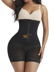 Aleahya:high Waisted Boned Crouchless Smooth Shaper