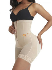 Aleahya:high Waisted Boned Crouchless Smooth Shaper-Nude