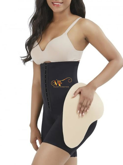 Jaylah:  High Waisted Shaper With Hips Black Shaper