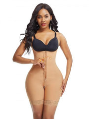 Queen Latex Body Shaper Adjustable Straps And Crouch Opening