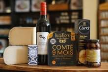Load image into Gallery viewer, Wine and Cheese Tasting Box with Comte