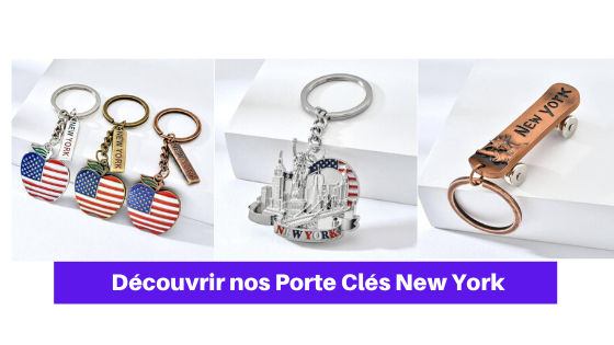 porte clé new york