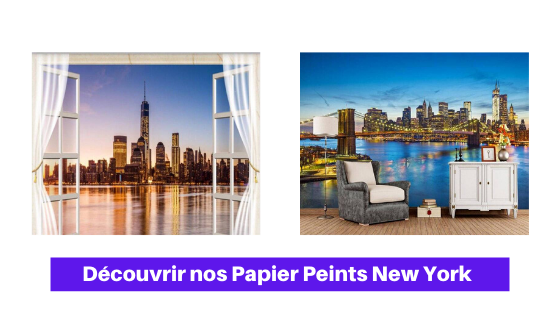 papier peint new york