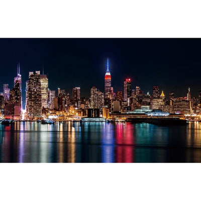 Papier Peint New York <br> Skyline by Night