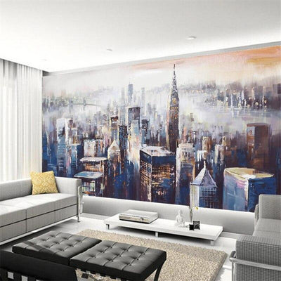Papier Peint New York <br> Fresque Moderne