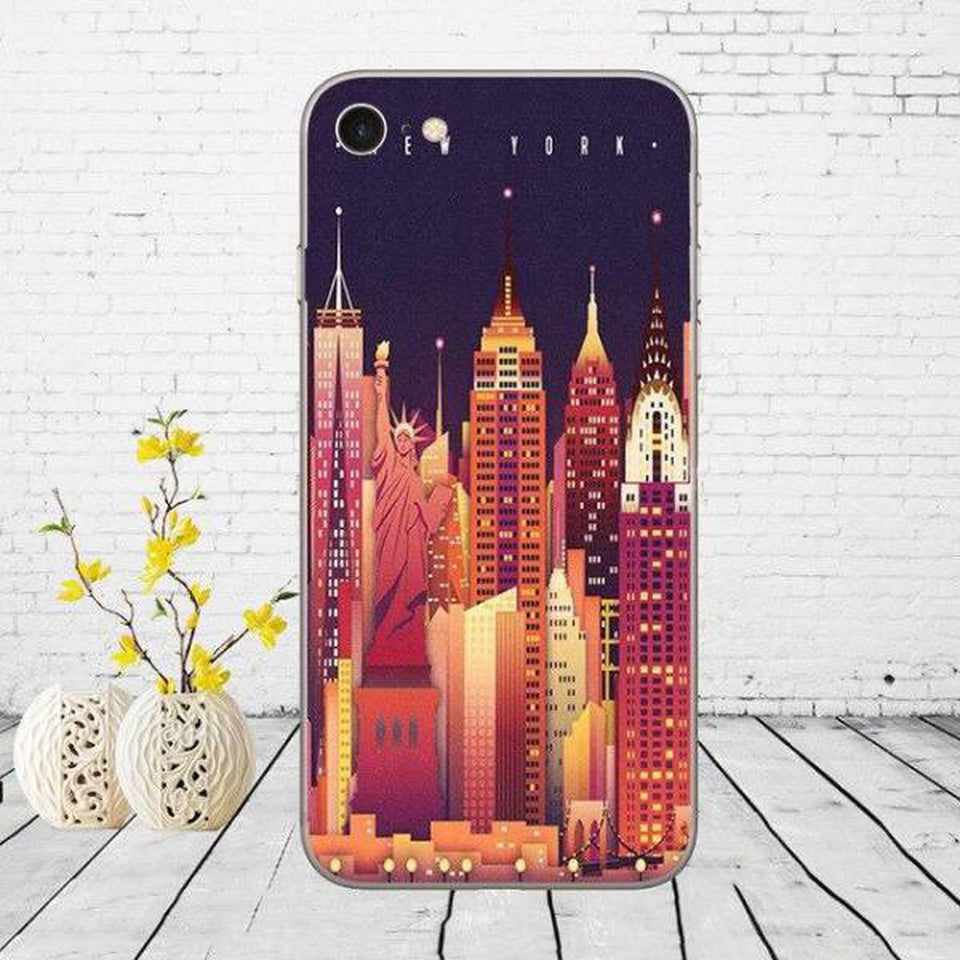 Coque New York en Dessin | NYC Shop