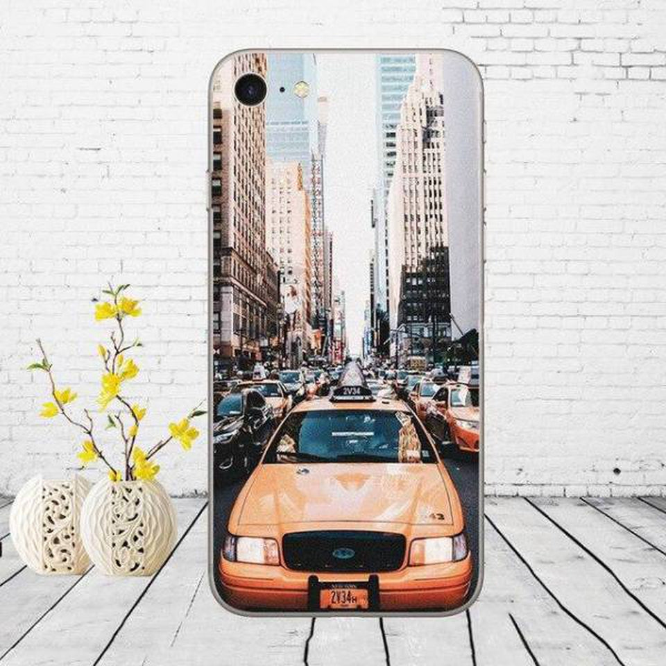 Coque New York Taxi Jaune | NYC Shop