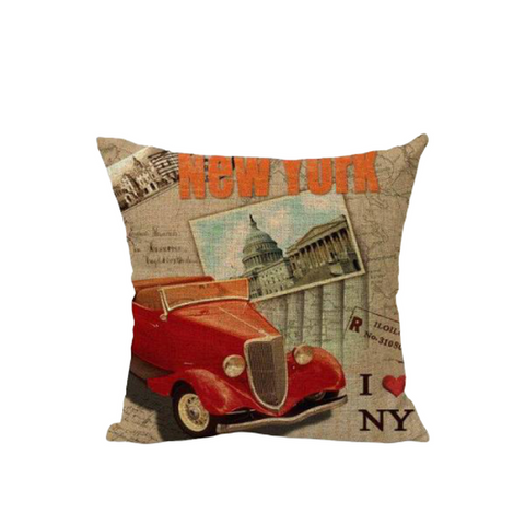 Coussin New York <br> Baroque