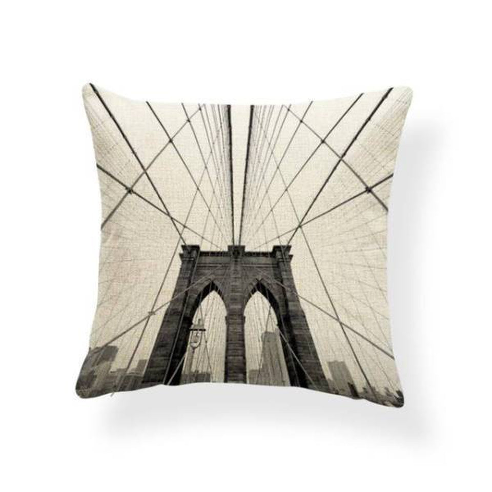 Coussin New York Brooklyn Bridge | NYC Shop