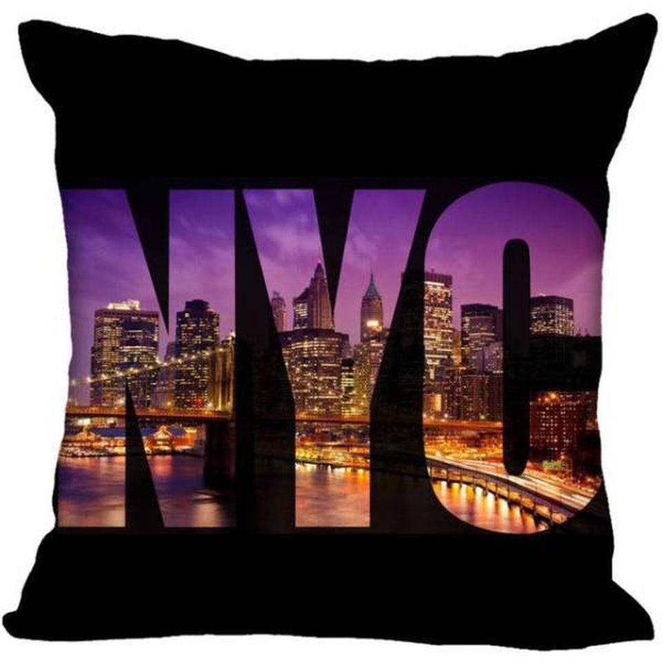 Coussin New York City by Night | NYC Shop