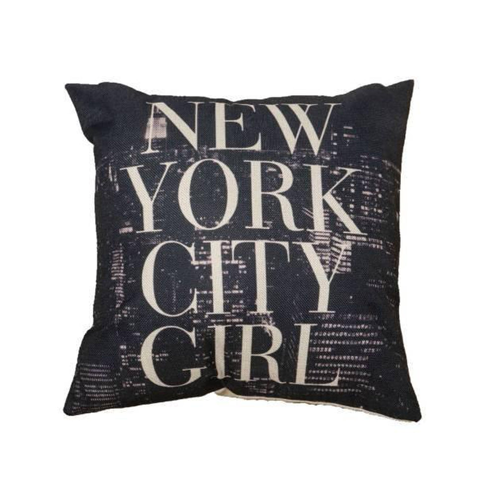 Coussin New York City Girl | NYC Shop