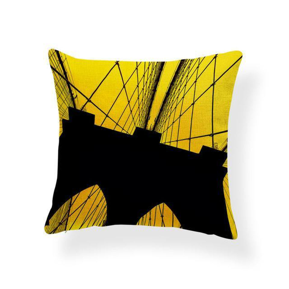 Coussin New York Pont de Brooklyn | NYC Shop
