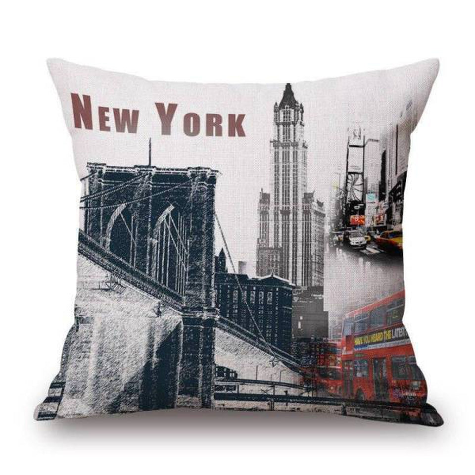 Coussin New York Retro | NYC Shop