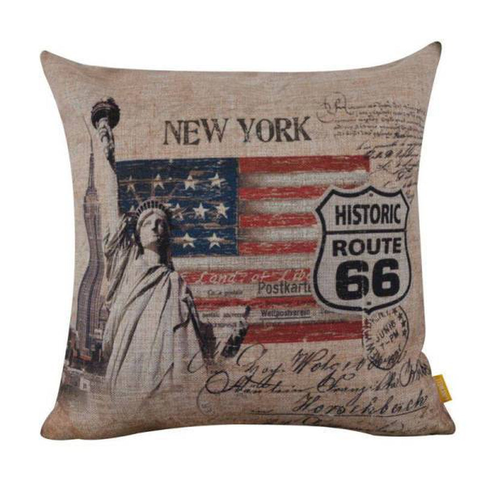 Coussin New York Route 66 | NYC Shop