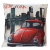 coussin new york vehicule vintage