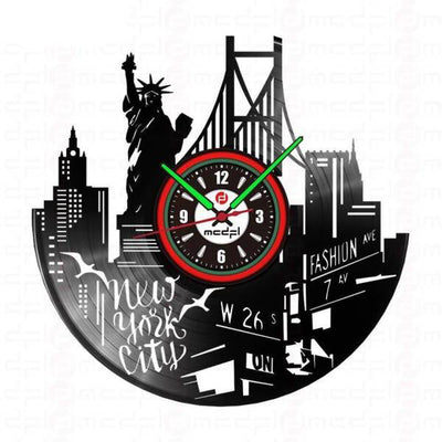 Horloge New York 7th Avenue | NYC Shop