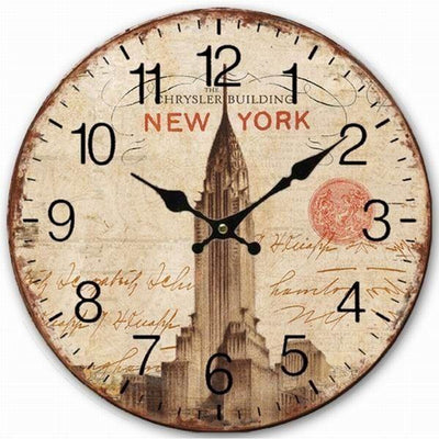 Horloge New York Chrysler Building | NYC Shop