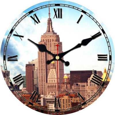 Horloge New York Gratte Ciel | NYC Shop