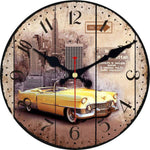 Horloge New York Manhattan Taxi Jaune | NYC Shop