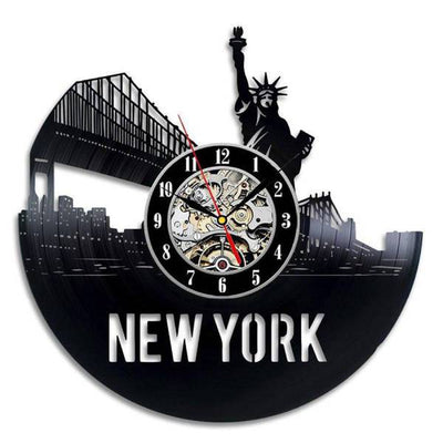 Horloge New York Pont de Brooklyn | NYC Shop