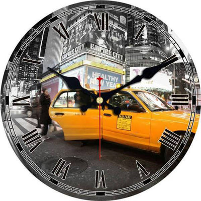 Horloge New York Taxi Jaune | NYC Shop